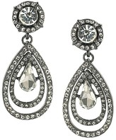 ABS by Allen Schwartz Pavé Teardrop Earrings