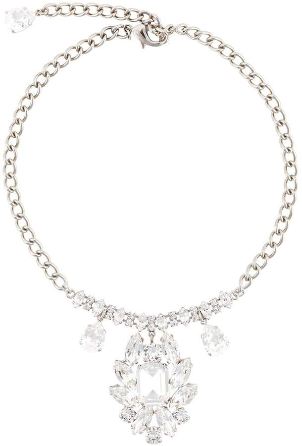Dolce & Gabbana crystal chandelier necklace