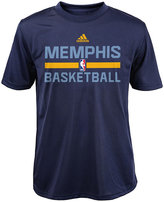 adidas Boys' Memphis Grizzlies Practice Wear Graphic T-Shirt