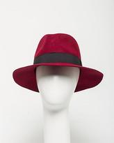 Le Château Wool Felt Floppy Hat