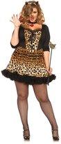 Leg Avenue Women's Plus-Size 4 Piece Wildcat Costume
