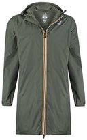 Kway Le Vrai Eiffel Waterproof Jacket Dark Green
