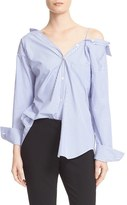 Theory Women's Tamalee Off The Shoulder Shirt