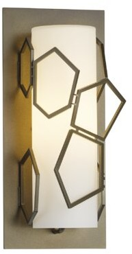 Umbra Hubbardton Forge 1-Light Outdoor Sconce Hubbardton Forge Finish: Black