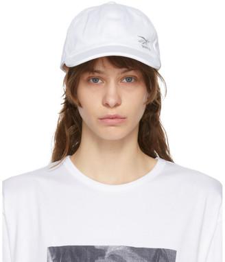 Juun.J White Logo Cap