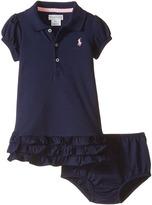 Ralph Lauren Interlock Cupcake Dress Girl's Dress