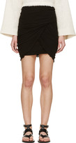 Isabel Marant Black Wrap Skirt