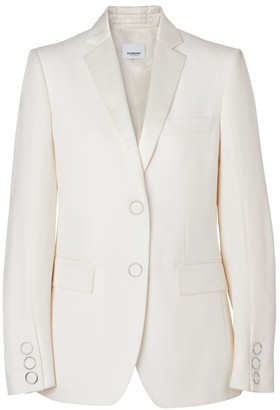 Burberry Caratown Wool Tuxedo Jacket