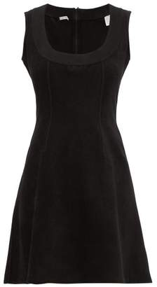 Alaia William Vintage Sleeveless Stretch Mini Dress - Womens - Black