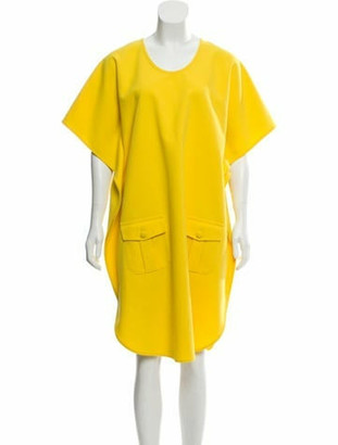 Harvey Faircloth Midi Shift Dress w/ Tags w/ Tags Yellow