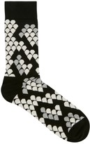 Happy Socks Python-print Cotton Blend Socks