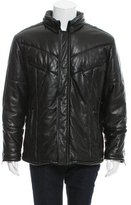 Gucci Quilted Leather Coat