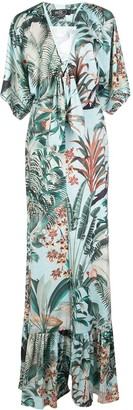 PatBO Tropical Print Maxi Dress