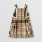 Burberry Childrens Vintage Check Cotton Dress