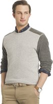 Arrow Big & Tall Classic-Fit Colorblock Fleece Sweater