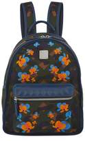 MCM Dieter Floral Camouflage Backpack