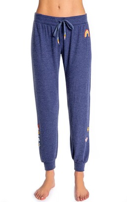 PJ Salvage Retro Revive Embroidered Joggers