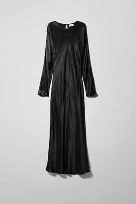 Weekday Birdie Dress - Black