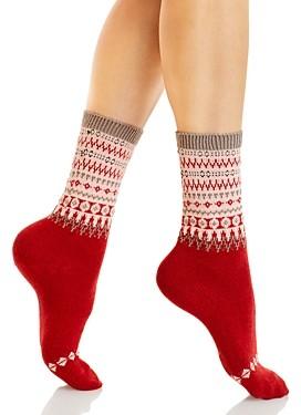 Falke Mixed Pattern Mid-Calf Socks