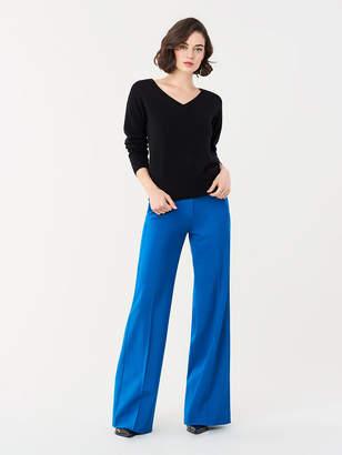 Diane von Furstenberg Everest V-Neck Wool-Cashmere Sweater