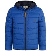 Timberland TimberlandBoys Blue Hooded Puffer Coat