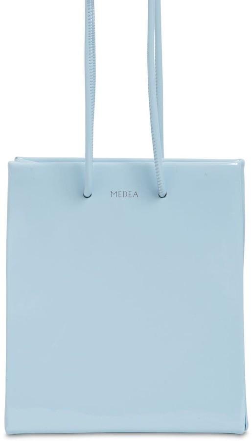 Medea Short Vinyl Bag W/ Long Straps