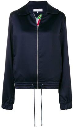 Kris Goyri Flags Stripe Zipped Jacket