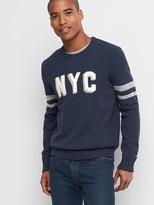 Gap Wool NYC crewneck