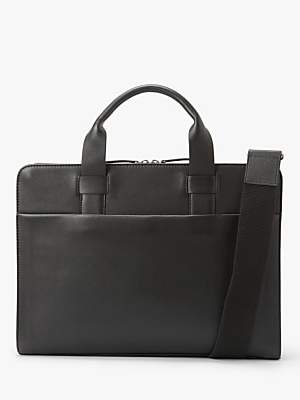 Oslo Leather Slim Briefcase