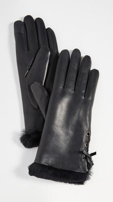 Agnelle Aliette Fur Gloves