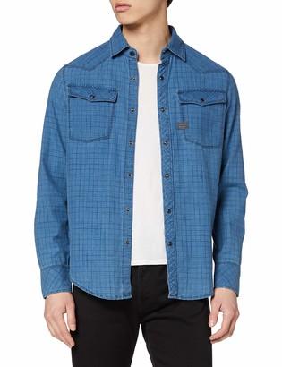 G Star Men's 3301 Slim Shirt' Casual