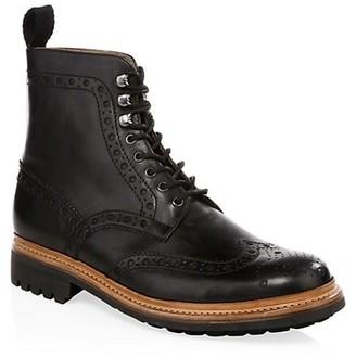 Grenson Fred Commando Wingtip Boots