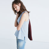 Madewell Airtime Tank Top in Marengo Stripe