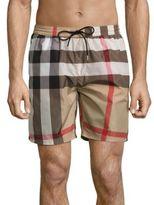Burberry Gowers Plaid Swim Shorts