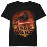 Star Wars Kylo Ren Boys' T-Shirt - Black