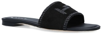 Tod's Leather Cuoio Slides