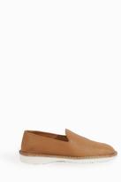 Maison Margiela Leather Loafers