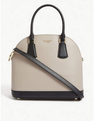 Kate Spade Sylvia large leather satchel