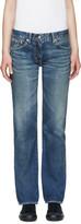 Visvim Blue Social Sculptures Slim-fit Jeans