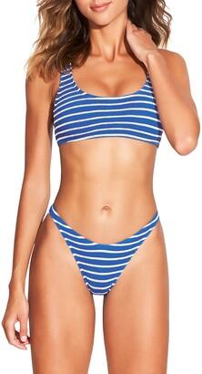 Bond Eye Bound By The Malibu Two-Piece Ribbed Bikini Swimsuit