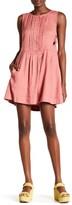 Free People Moonshine Linen Blend Dress