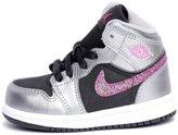 Jordan NIKE Girls (TD) Air Retro 1 Basketball Shoes-364773-013