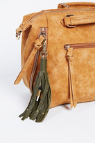 Free People Womens LEATHER KEYCHAIN CHARGER