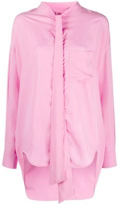 Balenciaga New Swing oversized blouse