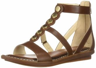 Hush Puppies Women's Olive Gladiator Sandals (Dk Brown 201) 8 UK/42 EU