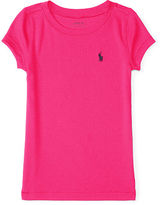 Ralph Lauren Pima Cotton–Blend Crewneck Tee