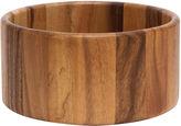 Lipper Acacia Straight-Side Serving Bowl