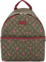 Gucci Rose canvas backpack