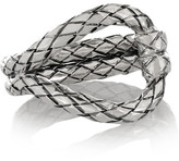 Bottega Veneta Oxidized Sterling Silver Ring - 13