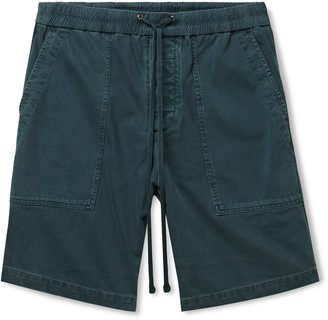 James Perse Cotton-Jersey Drawstring Shorts